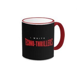 I Write Techno-thrillers Mug