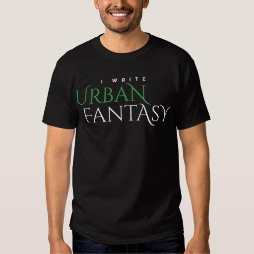 I Write Urban Fantasy Shirt (men's)