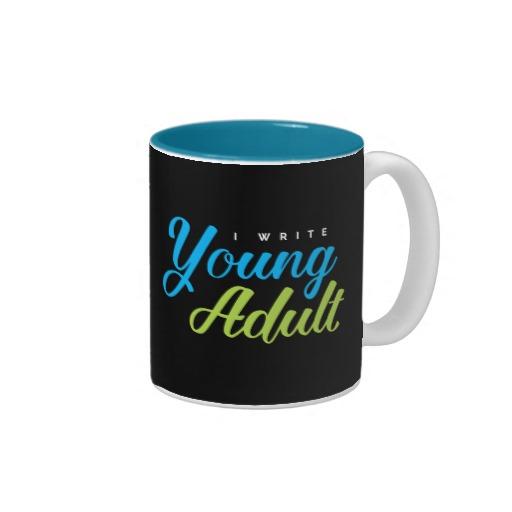 I Write Young Adult Mug