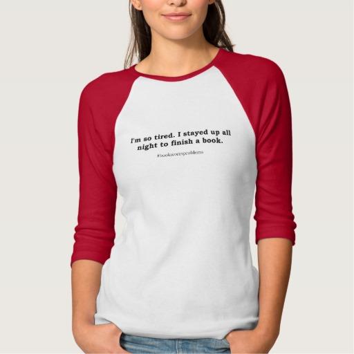 #bookwormproblems 09 Shirt (black design)