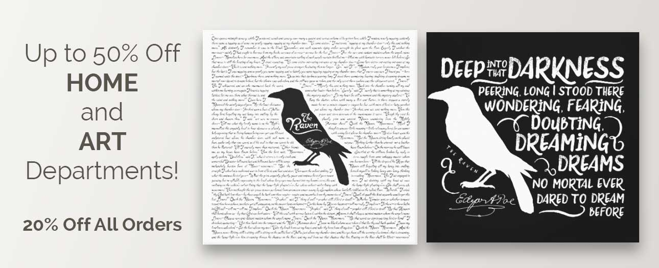 Zazzle Promotion: Up to 50% Off Home and Art Departments!