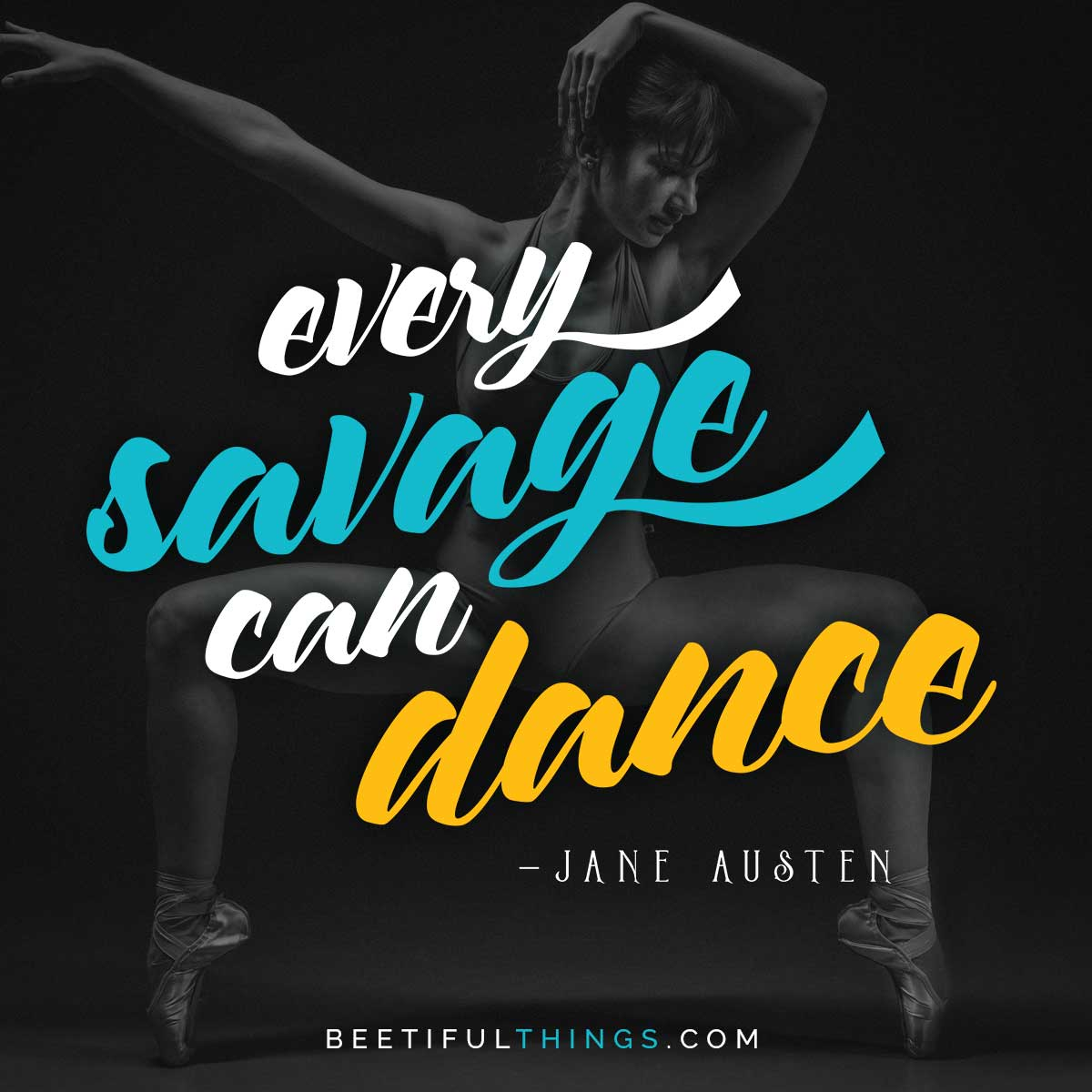 Every Savage Can Dance