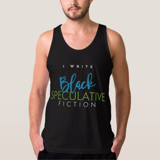 I Write Black Speculative Fiction Shirt (men's)