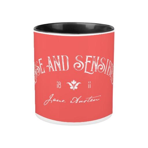 Sense and Sensibility by Jane Austen (1811) Mug