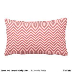 Sense and Sensibility by Jane Austen (1811) Pillow