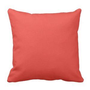 Shhh Quiet Please Pillow (orange/black)