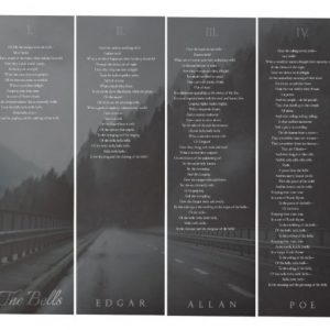 The Bells - Edgar Allan Poe (4 Panels) Wall Art