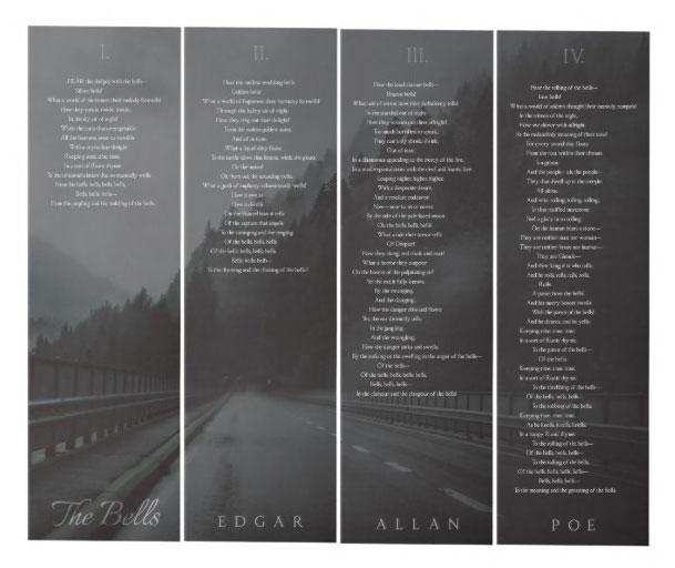 The Bells - Edgar Allan Poe (4 Panels) Wall Art