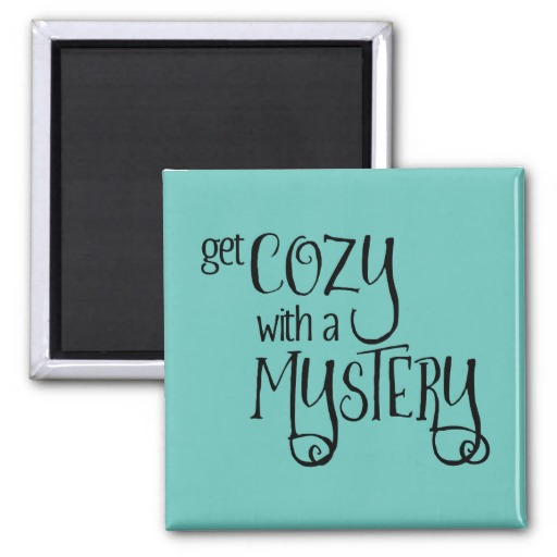 Get Cozy with a Mystery Magnet (black design)