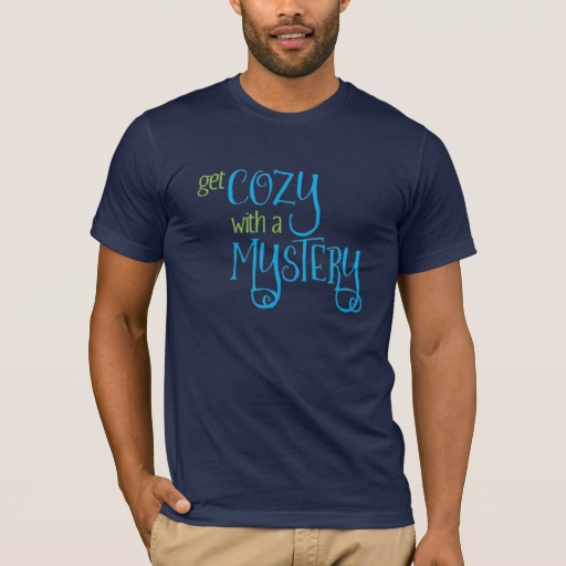 Get Cozy with a Mystery Men's Shirt (colored design on dark)