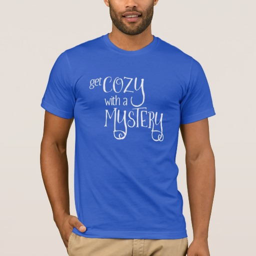 Get Cozy with a Mystery Men's Shirt (white design)