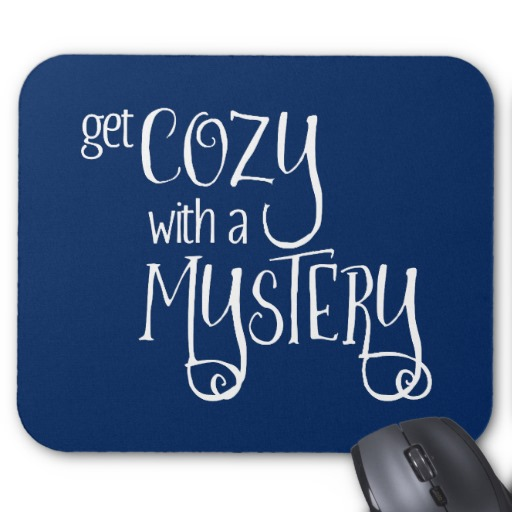 Get Cozy with a Mystery Mouse Pad (white design)