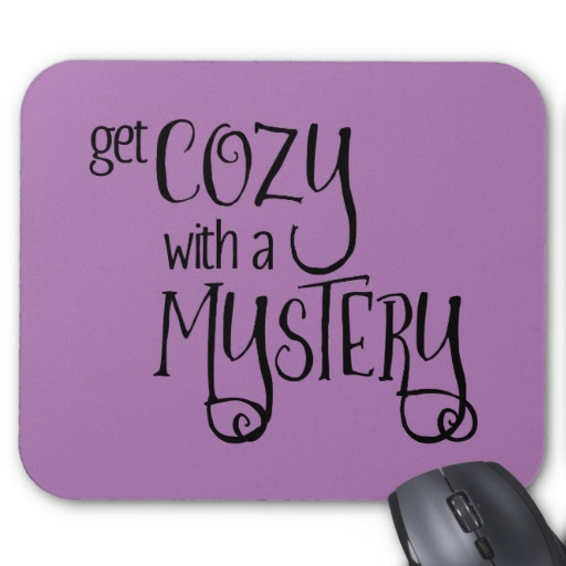 Get Cozy with a Mystery Mouse Pad (black design)