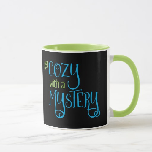 Get Cozy with a Mystery Mug (colored design on dark)