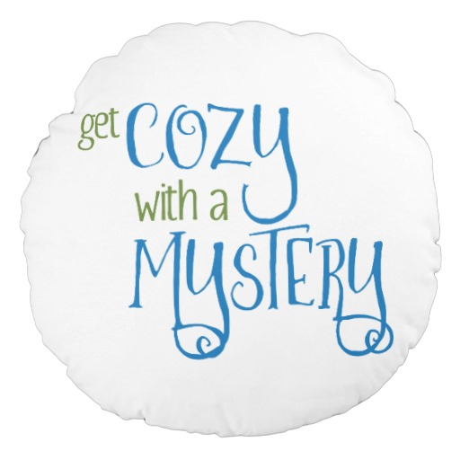 Get Cozy with a Mystery Round Pillow (colored design)