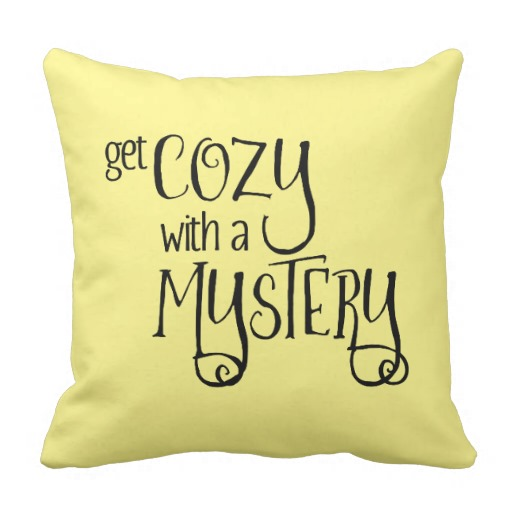 Get Cozy with a Mystery Square Pillow (black design)