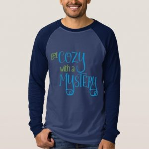Get Cozy with a Mystery Men's Sweater (colored design on dark)