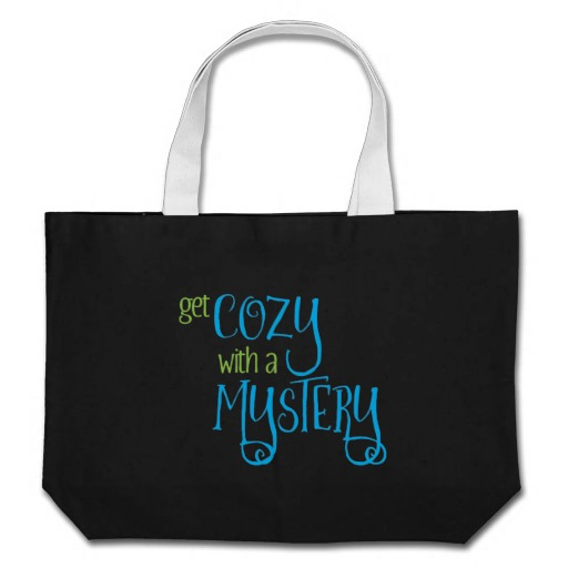 Get Cozy with a Mystery Tote Bag (colored design on dark)