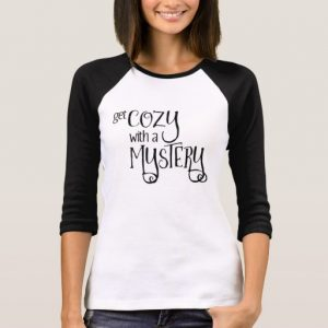 Get Cozy with a Mystery Woman's Shirt (black design)