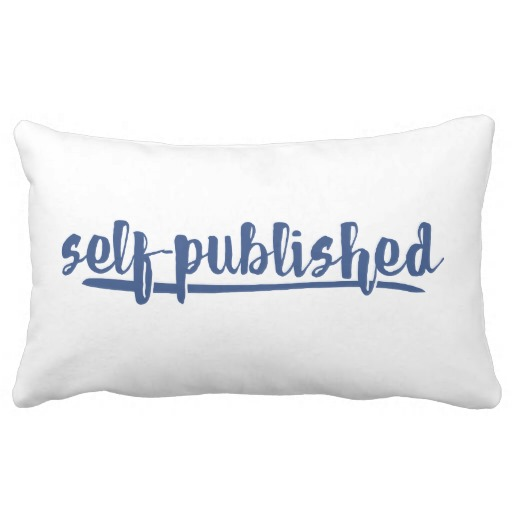 Self-published Pillow (white design)
