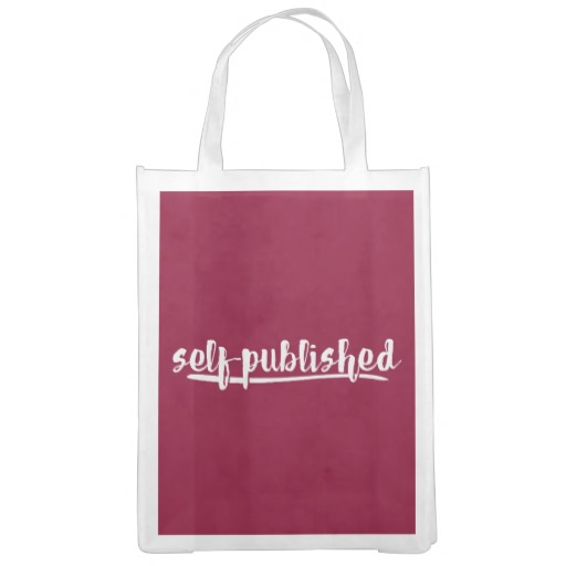 Self-published Grocery Bag (white design)