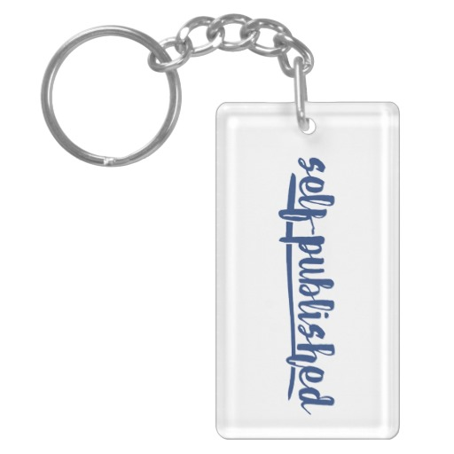 Self-published Keychain (blue design)
