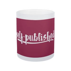 Self-published Mug (white design)
