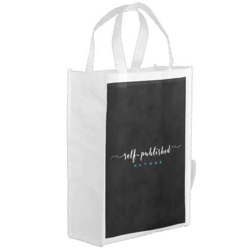 Self-published Author Grocery Bag