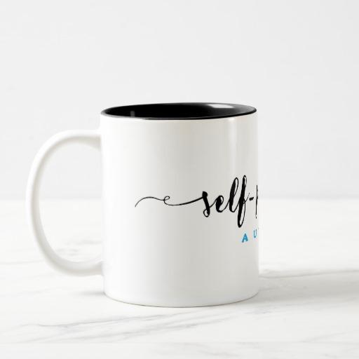 Self-Published Author Mug (black design)