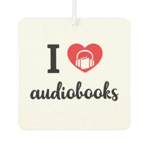 I Heart Audiobooks Air Freshener