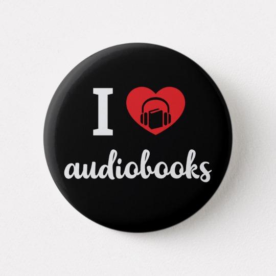 I Heart Audiobooks Button