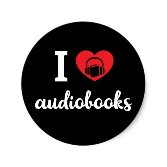 I Heart Audiobooks Sticker