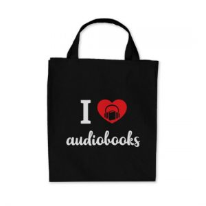 I Heart Audiobooks Sticker