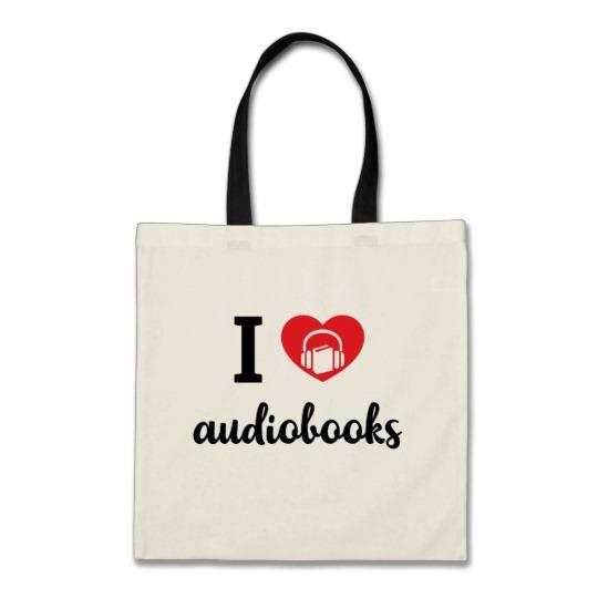 I Heart Audiobooks Tote