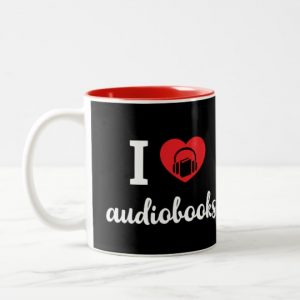 I Heart Audiobooks Mug