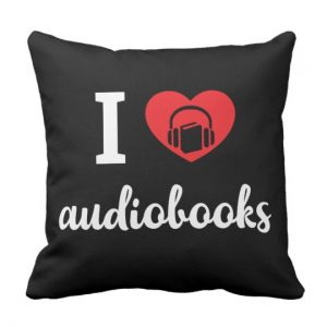 I Heart Audiobooks Pillow